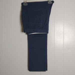 NWT Land's End Women's Navy Pants 16